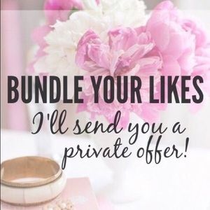 Other - Bundle your likes and I will make you an offer.